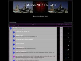 Free forum : Lausanne by Night