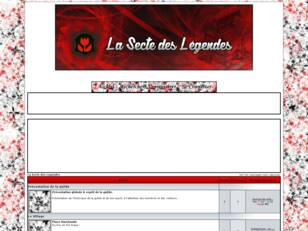 La Secte des Legendes, le Forum Officiel