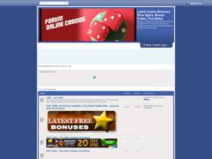 Latest Casino Bonuses (Free Cash Forum)