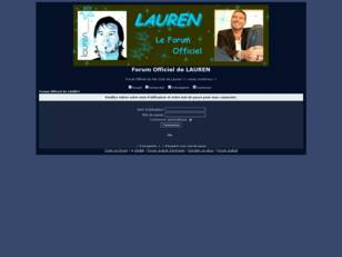 Forum Officiel de LAUREN