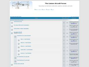 The Liaison Aircraft Forum