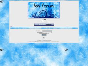 Forum gratis : Le Bar