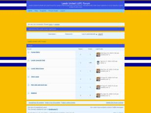 Leeds United LUFC Chat Forum