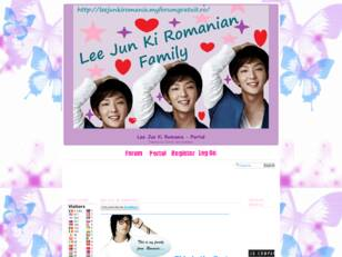 Forum gratuit : Lee Jun Ki Romanian Forum