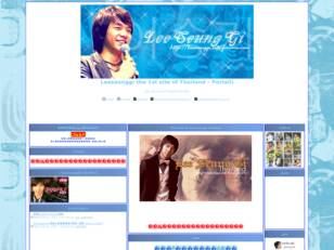 Leeseunggi the 1st site of Thailand
