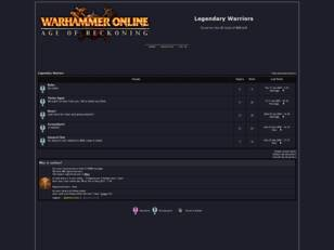 Free forum : Legendary Warriors