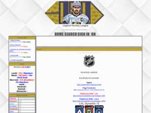 Legensds Hockey League II (Comeback)