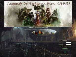 Legends Of Satanic Fire  AFS