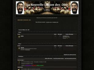 Forum de l'Alliance des -300-