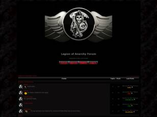 Legion of Anarchy Forum