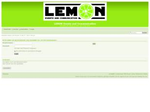 LEMON Events and Communication