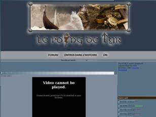 Forum : Le Poing de Tyr