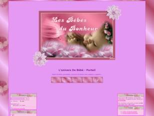 creer un forum : L'univers De Bebe