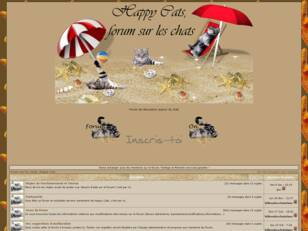 Forum sur les chats - Happy cats -