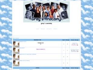 creer un forum : grey's anatomy