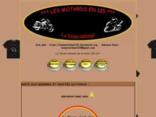 LES MOTARDS EN 125