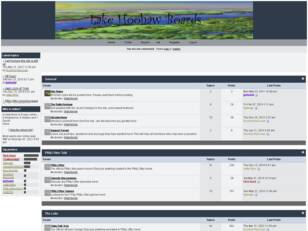 Free forum : Lake Hoohaw Boards