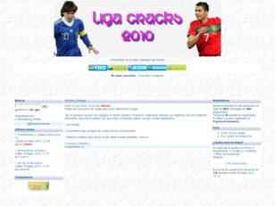 Foro gratis : Liga Cracks 2010