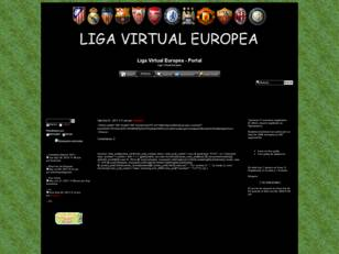 Liga Virtual Europea