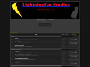 Lightning Cat Forums