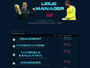 Forumactif.com : Ligue manager - Fifa 18 - PS4