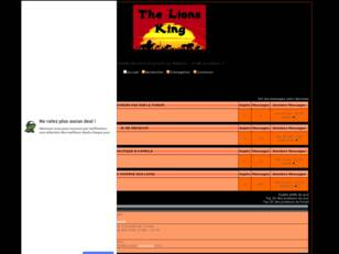 Forum gratis : Les Lions King