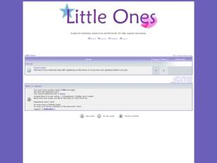 Free forum : Little ones