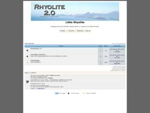 Little Rhyolite