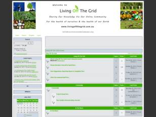 Living Off The Grid Forum
