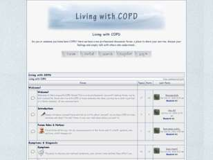 Free forum : living with copd