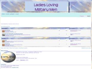 Free forum : Ladies Loving Military Men
