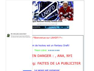 creer un forum : Ligue National Hockey Fantasy Dra