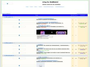 LOng Du WeBBoArd