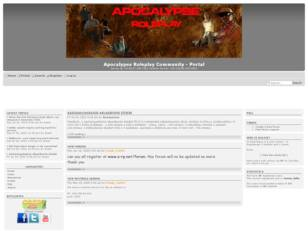 Apocalypes Roleplay Community Forum
