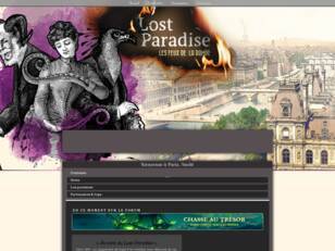 Cabaret du Lost Paradise - Forum RPG fantastique