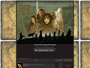 Lord of the Rings Rol Game