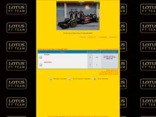 Forum de la Team Lotus F1 Renault GPRO
