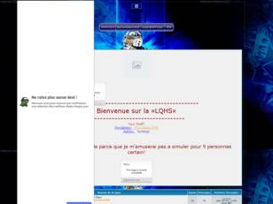 LQHS creer un forum : Ligue active