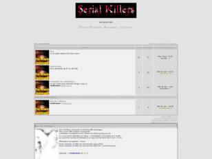 Forum gratis : creer un forum : les serial killer