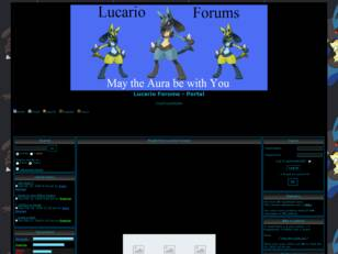 Free forum : Lucario Forums