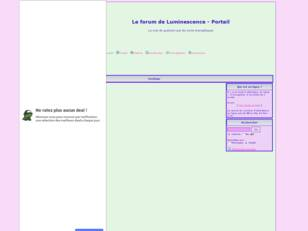 Le forum de Luminescence