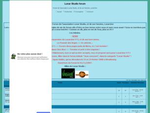 creer un forum : Lunar Studio forum