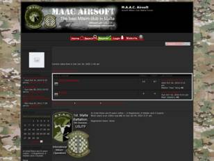 M.A.A.C. Airsoft Section Forum