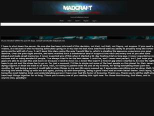 MadCraft Forums