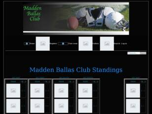 Free forum : MaddenBallasClub Madden 13 league
