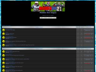Madden 360 Sim league