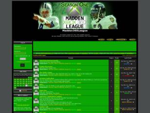 Madden360League