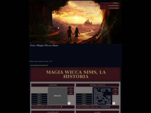 Magia Wicca Sims