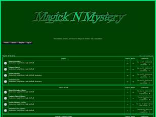 Of Magick & Mystery
