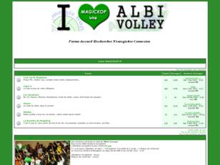 Site des supporters d'Albi Volley USSPA, Sport club Tarn Magickop